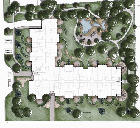 beaurepaire site plan